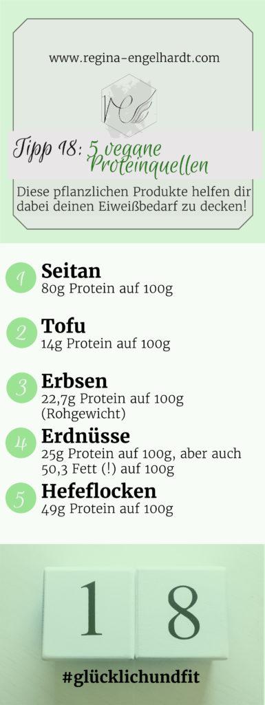 5 vegane Proteinquellen