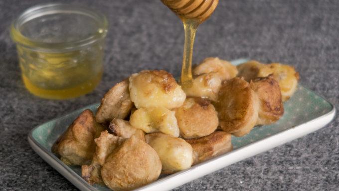 """Gebackene Banane mit Honig aus dem Kochbuch """"Easy Asia"""" von Weight Watchers"""