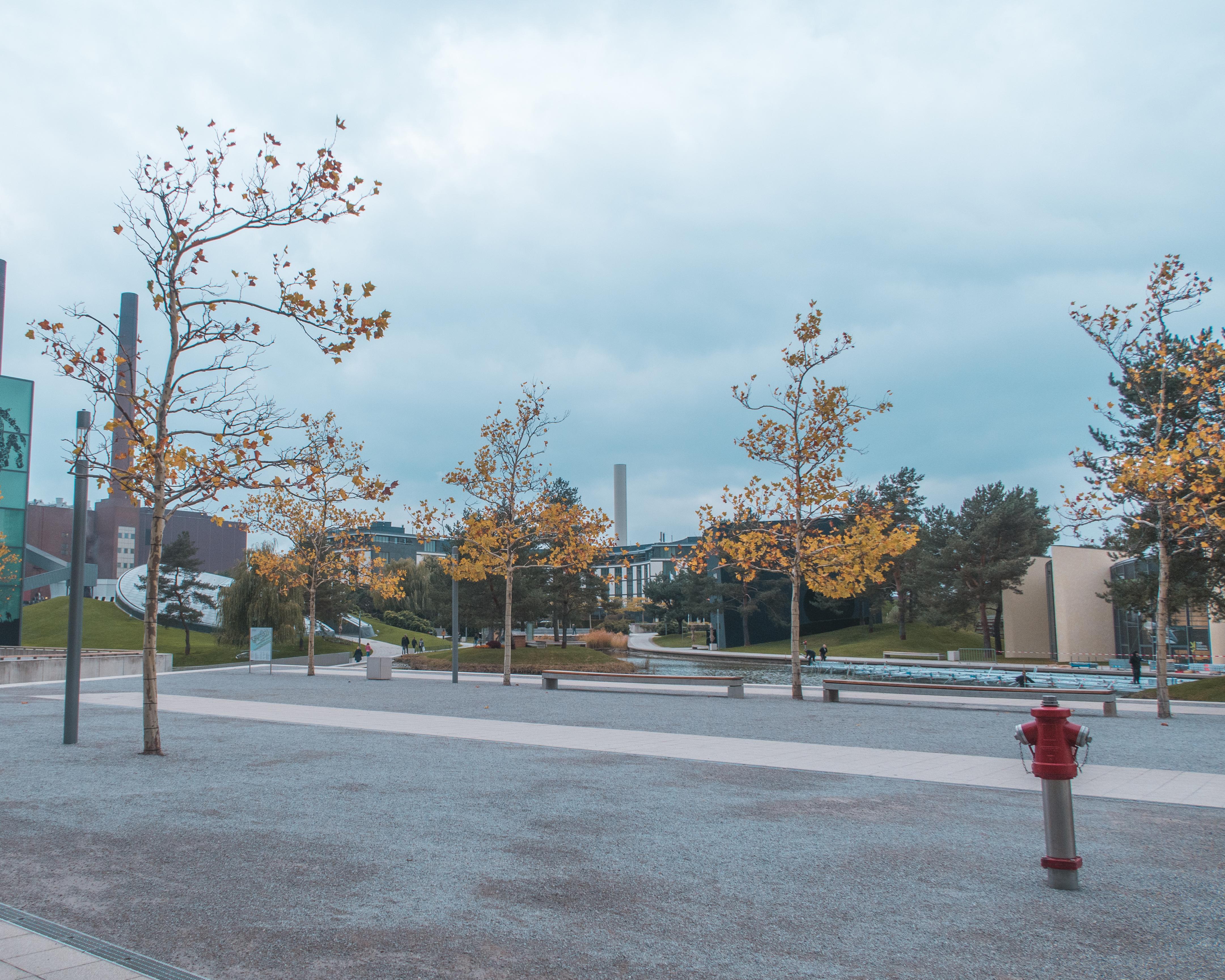 Autostadt im Herbst
